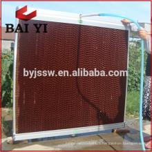 Coussin de refroidissement / rideau humide pour le système de ventilation de serre / volaille