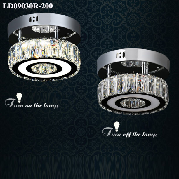 crystal fancy led ceiling lights