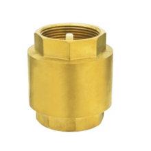Válvula de retención de latón J5003 pn16, válvula de retención de latón de resorte, precio bajo con buena calidad