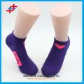 Frühling feste Knöchel Socken von Herz Muster für junge Mädchen, Mode für Sport