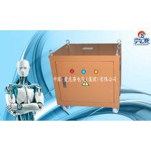 Трехфазный трансформатор сухого типа с коробкой