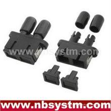 SC / PC - ST / PC HYBIRD PLASTICS Adaptador duplex monomodo
