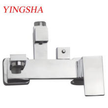 Square Single Handle Brass Thermostatic Shower Mixer