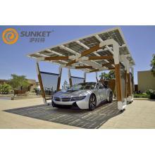 Système solaire de montage de carport solaire Ket pour E3