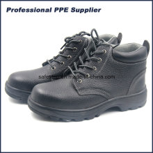 Bafflo Leather High Cut Steel Toe Hombre Zapato de trabajo