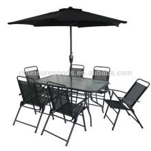 Ensemble de meubles de patio en aluminium design moderne