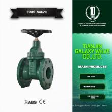 DIN pn10 sello de alta presión 20 válvula de compuerta