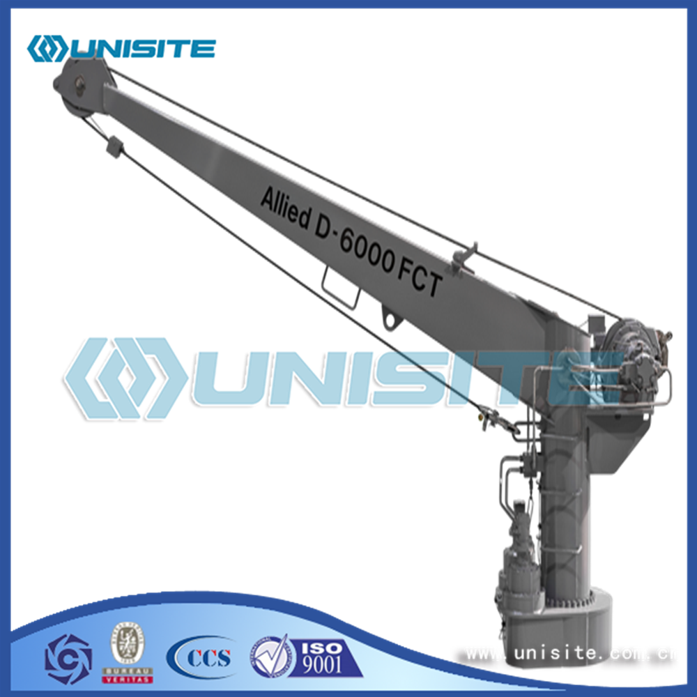 Steel Marine Davits Arm Crane for sale