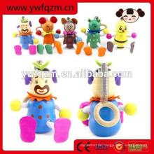Hölzernes springendes Tierfrühlings-Spielzeug