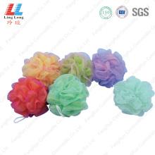 Mixture smooth mesh bath ball