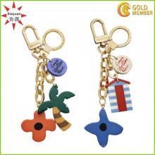 Werbegeschenk-Souvenirs Charm Gold Schlüsselanhänger
