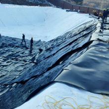 HDPE waterproof geomembrane 2mm as pond liner