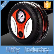 HF-1024 Nouvelle arrivée DC12V Mini voiture compresseur d'air Voiture vélo pneu gonfleur pompe à air Portable air compresseur pompe d'inflation