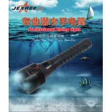 China al por mayor H3 táctica militar linterna de autodefensa armas cree 2500 lumens marino llevó reflector