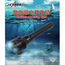 China Wholesale H3 Tactical militaire lampe de poche auto-défense armes cree 2500 lumens marine led searchlight