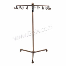 Jewelry Supplier Antique Copper Plated Iron Jewelry Display
