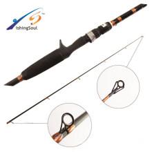 BAR008 Vente chaude pure naro carbone basse canne à pêche