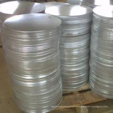 Círculo de folha de alumínio de baixo preço 1050-O para fiação