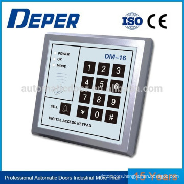 Access control panel for automatic door / card reader / password read