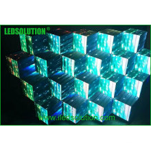 Fases novas do DJ da tela do diodo emissor de luz do produto, cabine do diodo emissor de luz do DJ para o disco