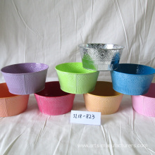 High Quality for Metal Baskets Balcony Metal Iron Flower Pot supply to India Factory