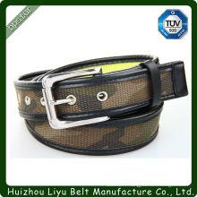 Boucle de ceinture en tissu / sangle de ceinture en tissu / ceinture de toile populaire
