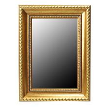 Oro alta calidad ps marcos de espejos decorativos