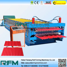 Hydraulic powered double layer roll forming machine for india