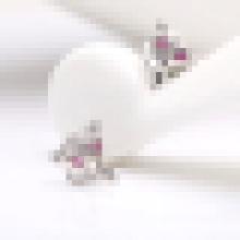 Women′s Fashion Cute 925 Sterling Silver Fox-Shaped Earrings