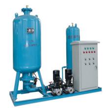 Estação de Recarga de Água Tanque de Expansão Instalação de Degaseificação a Vácuo