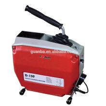 D150 máquina de limpieza de drenaje seccional eléctrica