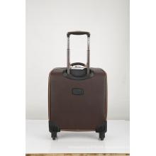 super quiet brown PU luggage case