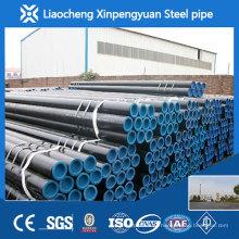 API 5L GR.BSCH40 / SCH80 / SCH160 tubo de aço sem costura de carbono preto