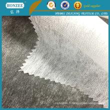 Tissu non tissé de polyester de double point