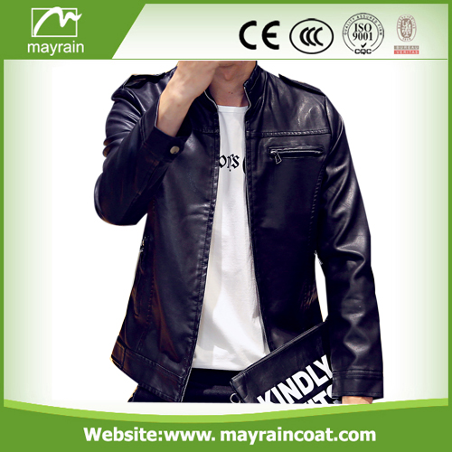 PU Raincoat For Men