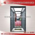 Glas und Spiegel Edelstahl Passagier Aufzug