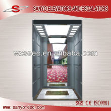 Стекло и зеркало Пассажирский лифт из нержавеющей стали