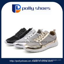 Beiläufige Frauen-Segeltuch-Schuhe Großhandelssegeltuch-Schuhe
