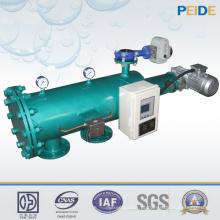Filtro de água automático de aço inoxidável para água do rio