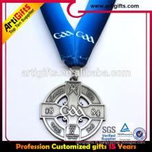 Longe de médaille personnalisée de prix de promotion pour le jeu de sport