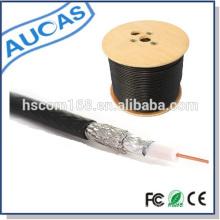 Cable coaxial del CCTV del CATV RG59 / RG6 / RG11 / RG213 garantía