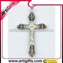Promotional jeweled cross pendants