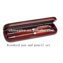 caja de lápiz de palo de rosa