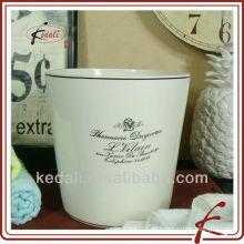 Papelera de cerámica