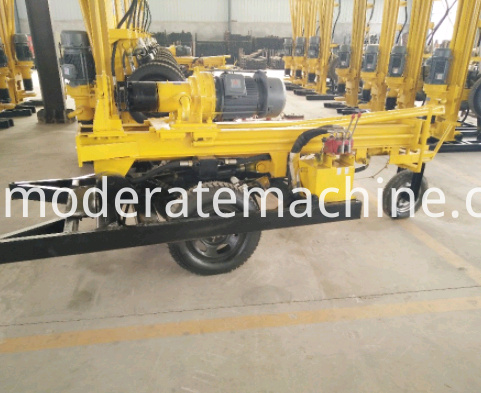 KQZ200D water well drilling rig 012