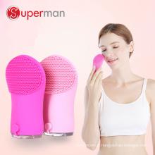 Le meilleur exfoliant nettoyant pour le visage maquillage brosse kits de nettoyage en silicone du visage nettoyage instrument