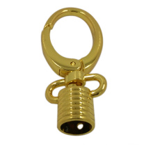 Dongguan Factory Bags Newest Design Gold Metal Snap Hook Stopper