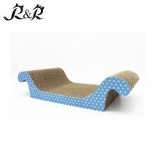 Le sofa qui respecte l'environnement de chat de meubles de chat de carton de lit de chat de carton d'animal familier CS-3027