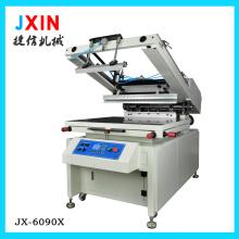Máquina de impressão semi-automática de tela plana cilíndrica