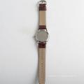 Mode quartz hommes montres import watch movement, montre arrière en acier inoxydable